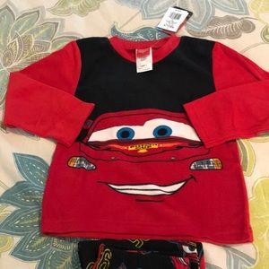 Disney Pajamas - Size 6 Disney Fleece Pajamas